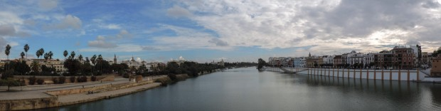 From the Puente Isabel II