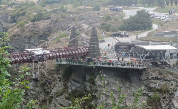 More Kiwi crazy at Kawarau Bridge Bungy