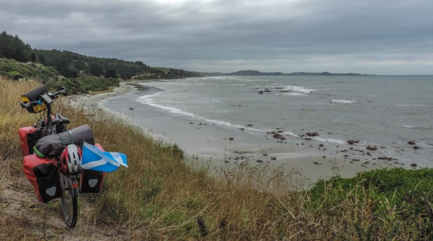 Just before getting to Moeraki