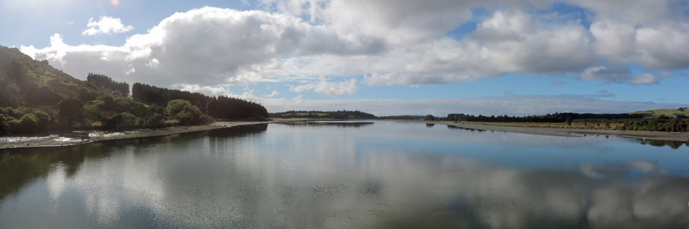 Catlins lake, which is not a lake