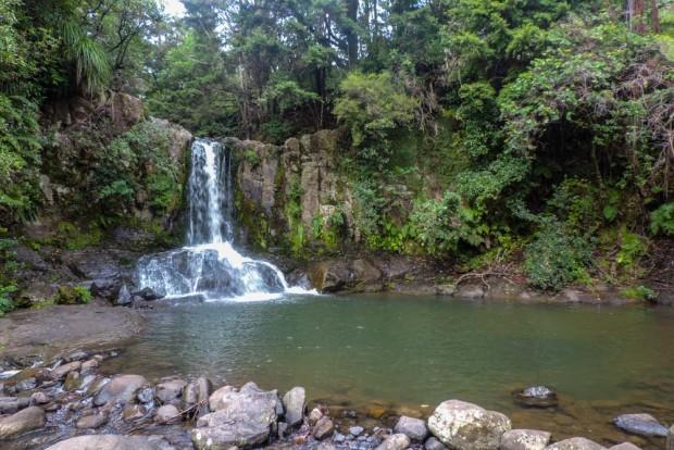 The falls pool