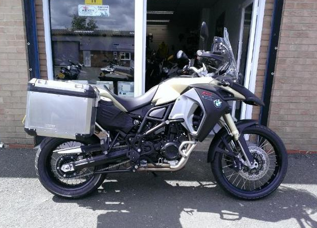 My new F800GS to be picked up in York in 10 days.